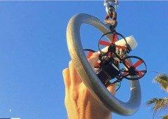 Vê o fantástico vídeo feito com este drone mais pequeno que o teu smartphone