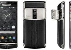 O Vertu New Signature Touch é tão potente como luxuoso...e caro!