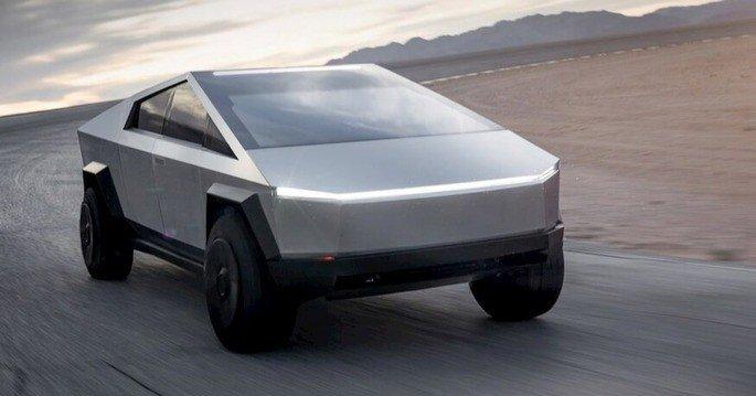 Este é o Tesla Cybertruck