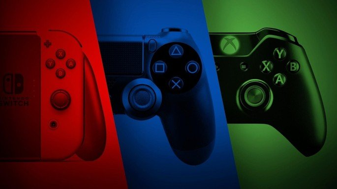 As três grandes dos videojogos