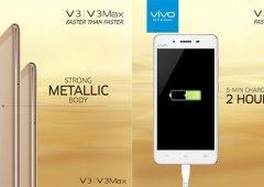 A Vivo acaba de acrescentar mais dois equipamentos à linha V (V3 e V3 Max)