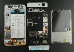 Vivo X5 Max o smartphone mais fino do mundo desmontado.