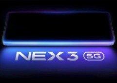 Vivo NEX 3 5G tem várias especificações confirmadas em nova leak