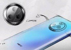 Vivo NEX 3: fabricante publica imagem real do smartphone! Vê o 'ecrã cascata'