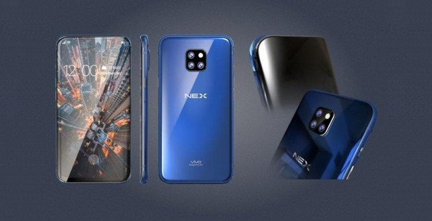 Vivo Nex 2 design