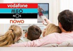 Vodafone, MEO, NOS e NOWO. Qual a melhor operadora com NET e TV? (Sondagem)