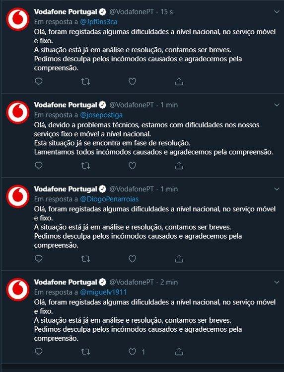 Vodafone Portugal Twitter