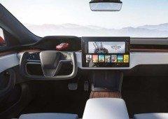 Volante do novo Tesla Model S não demorou até ser ridicularizado nas redes sociais