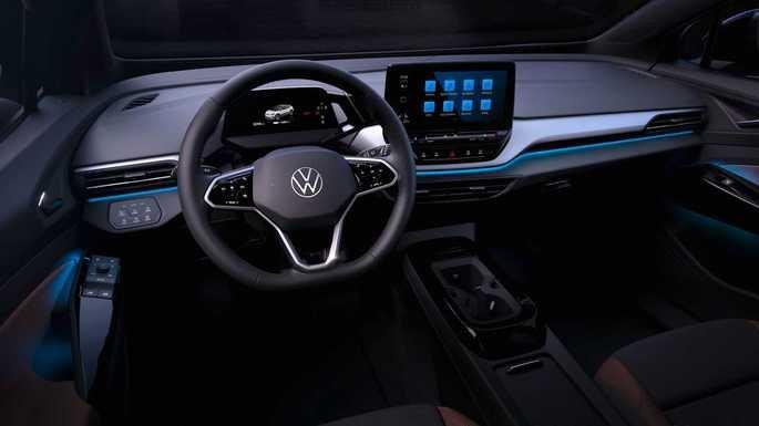 O interior do Volkswagen ID 4