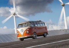 Volkswagen transforma a clássica 'pão de forma' numa versão elétrica