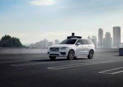 Volvo e Uber apresentam o seu primeiro carro totalmente autónomo