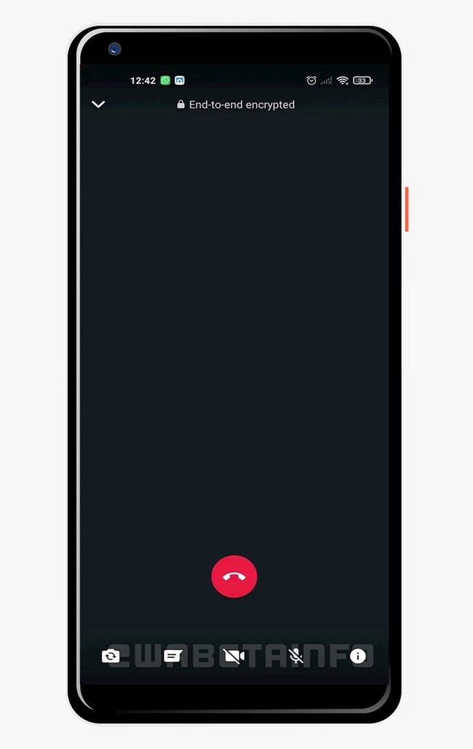 WhatsApp novo design videochamada