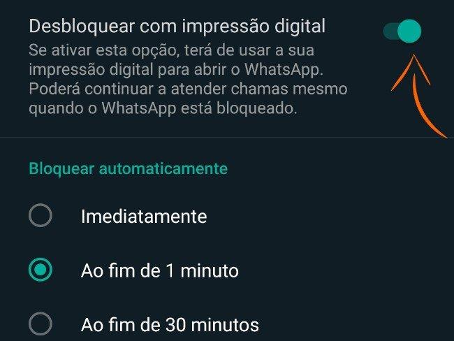 WhatsApp dica