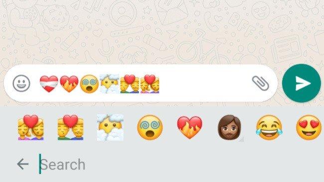 WhatsApp Android Emoji