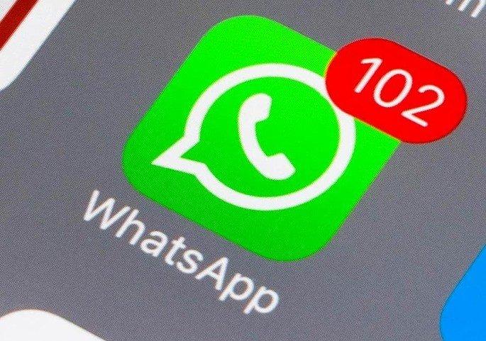 WhatsApp mensagens bomba