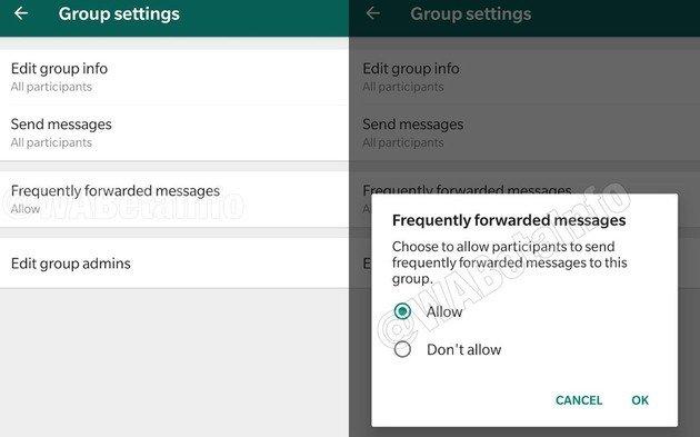 WhatsApp atualização