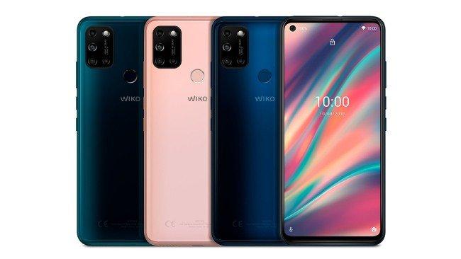 Telemóvel Wiko View5 em várias cores