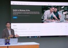 Atualização do Windows 10 S para o Windows 10 Pro terá um preço agradável