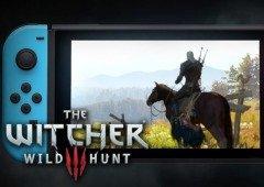 The Witcher 3 na Nintendo Switch tem novo vídeo de gameplay