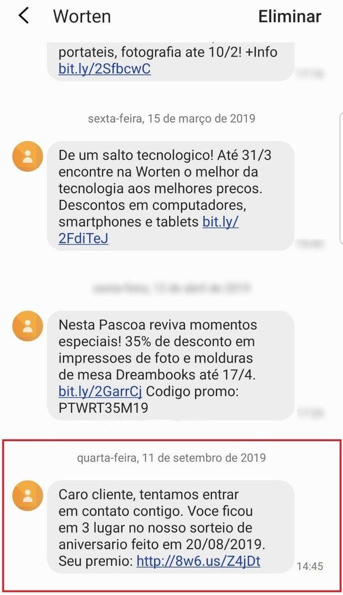 worten sms scam
