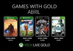 Já viste os jogos grátis da Xbox Live Gold de abril? Chegam já segunda-feira!