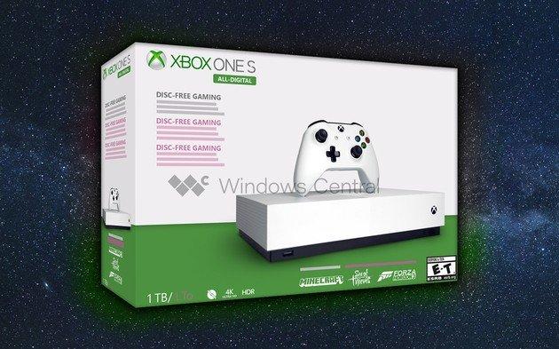 Xbox One S 'All-Digital'