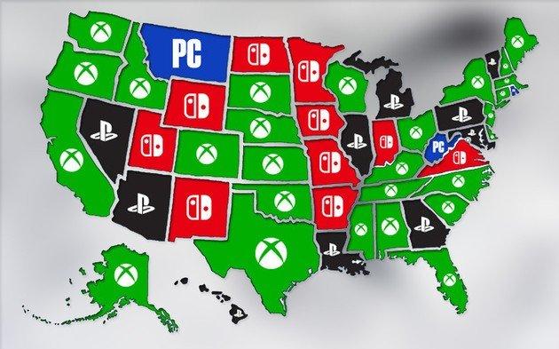 Xbox One PlayStation 4 Nintendo Switch