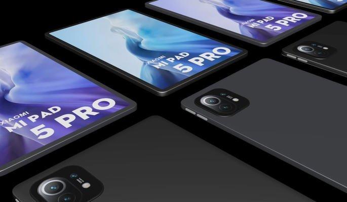Design esperado no Xiaomi Mi Pad 5 Pro