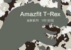 Xiaomi Amazfit T-Rex: nova linha de produtos chega já no dia 1 de janeiro!