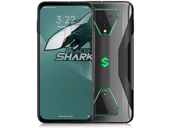 BlackShark 3 Pro em cinza