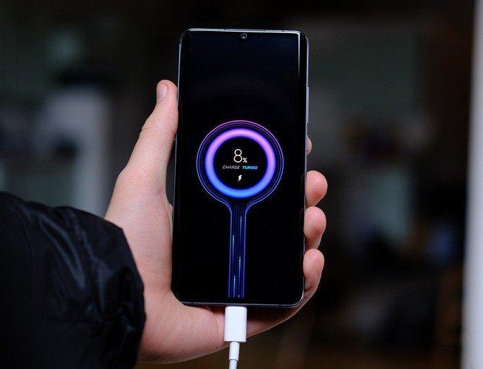 Xiaomi carregamento 100W