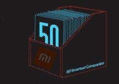 "Xiaomi conseguiu finalmente entrar no TOP 50 das ""empresas mais inteligentes"""