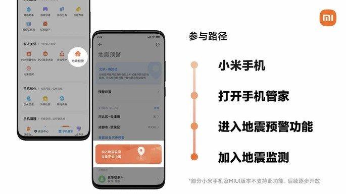 Smartphones da Xiaomi poderão em breve monitorizar terramotos