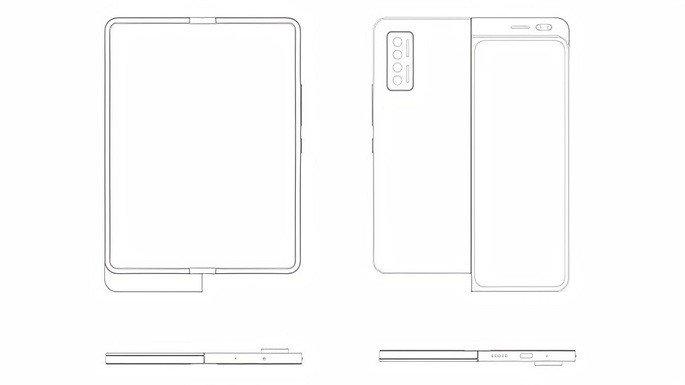 Xiaomi dobrável patente