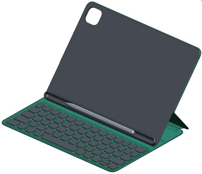 Capa com teclado do alegado Xiaomi Mi Pad 5