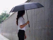 Xiaomi lança guarda-chuva automático com preço fantástico