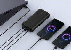 Xiaomi lança Mi Power Bank 3 com carregamento rápido de 50W