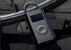 Xiaomi lança uma bomba de ar para pneus e bicicleta a bateria e que não exige esforço