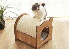 Xiaomi lançou mais uma casa para gatos a um preço que te vai impressionar!