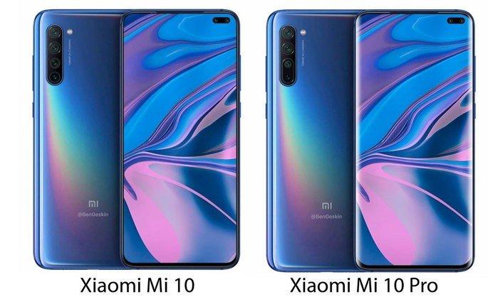 Xiaomi Mi 10 e Xiaomi Mi 10 Pro