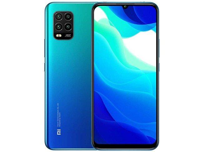 Telemóvel Xiaomi Mi 10 Lite em azul