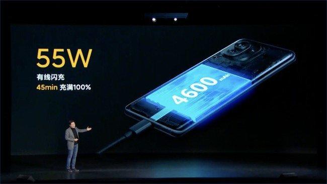 Xiaomi Mi 11 carga