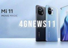 Xiaomi Mi 11 por apenas 568 € com o cupão exclusivo 4gnews