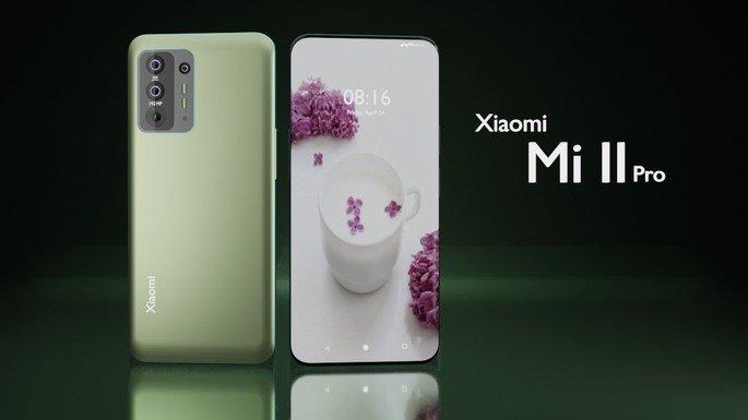 Conceito do Xiaomi Mi 11 Pro