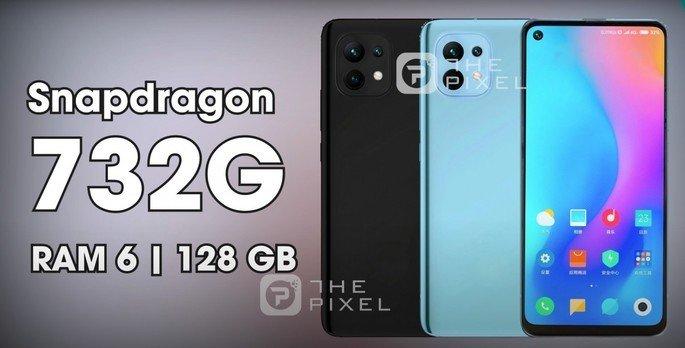 Render não oficial do Xiaomi Mi 11 Lite