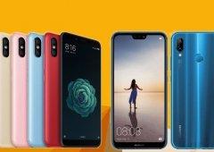 Xiaomi Mi 6X vs Huawei P20 Lite - qual o melhor Android de gama média?