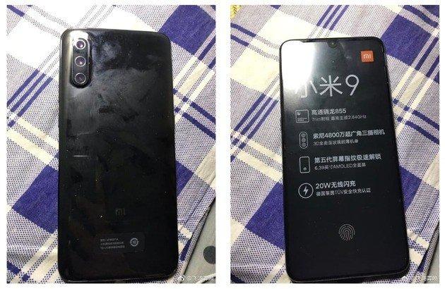 Xiaomi Mi 9 sem flash