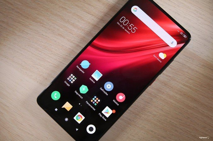 Xiaomi Mi 10 ecrã
