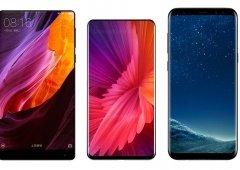 Xiaomi Mi Mix 2 é agora comparado com o Samsung Galaxy S8