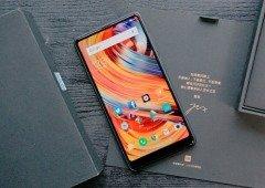 Xiaomi Mi Mix 2 impressiona ao receber o Android Pie